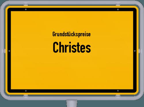 Grundstückspreise Christes 2019