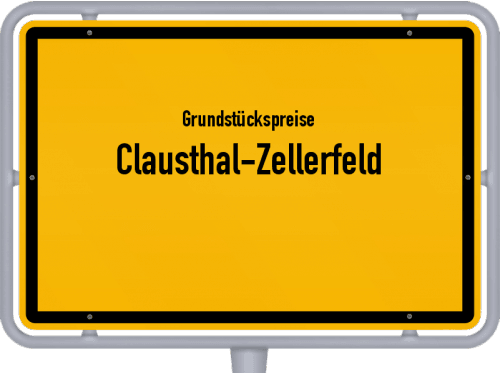 Grundstückspreise Clausthal-Zellerfeld 2019