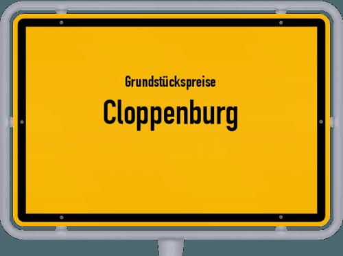 Grundstückspreise Cloppenburg 2021