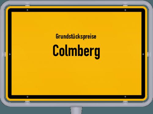 Grundstückspreise Colmberg 2021