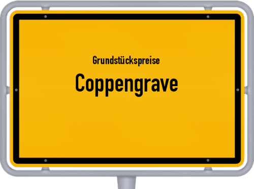Grundstückspreise Coppengrave 2021