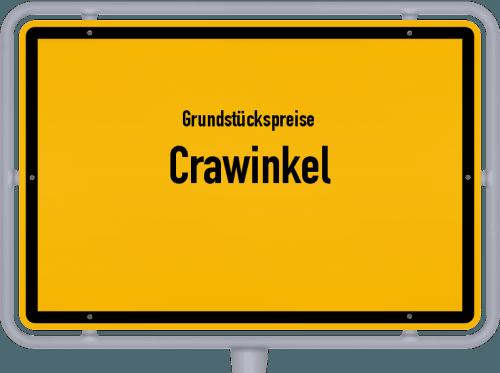 Grundstückspreise Crawinkel 2019