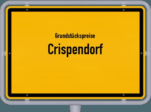 Grundstückspreise Crispendorf 2019