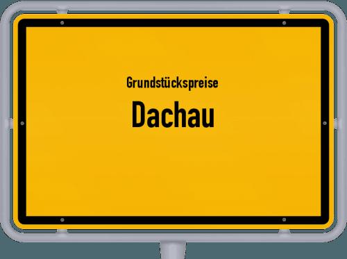 Grundstückspreise Dachau 2019