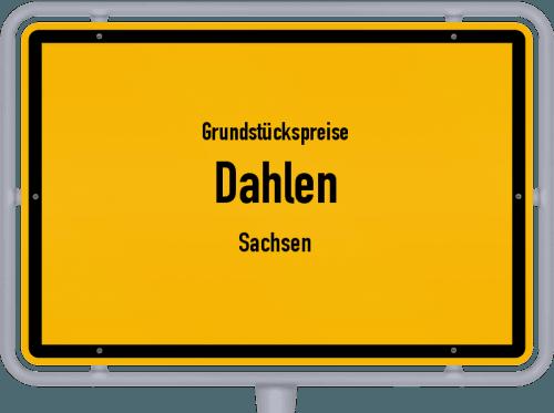 Grundstückspreise Dahlen (Sachsen) 2019