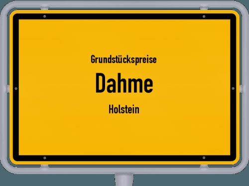 Grundstückspreise Dahme (Holstein) 2021