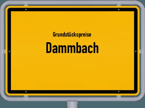 Grundstückspreise Dammbach 2019