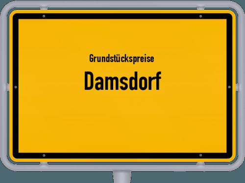 Grundstückspreise Damsdorf 2021