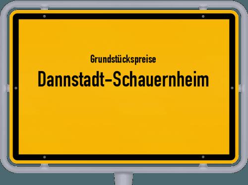 Grundstückspreise Dannstadt-Schauernheim 2019