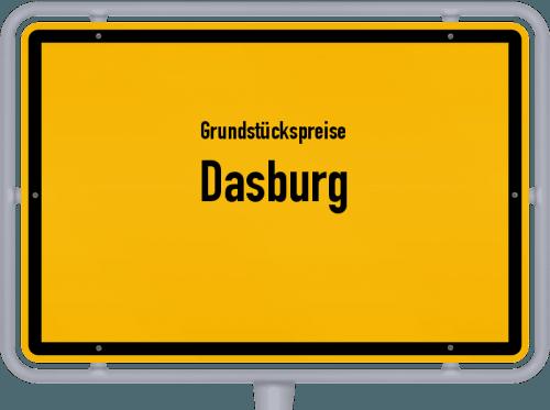 Grundstückspreise Dasburg 2019
