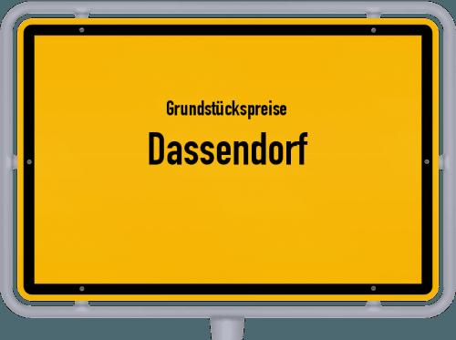 Grundstückspreise Dassendorf 2021