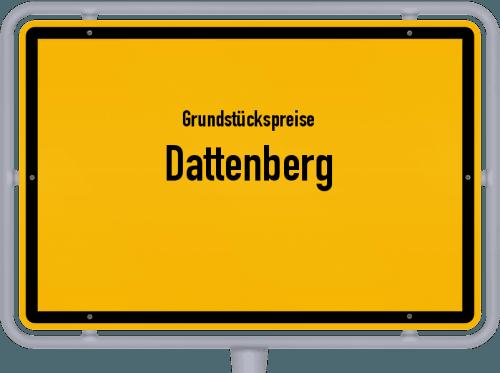 Grundstückspreise Dattenberg 2019