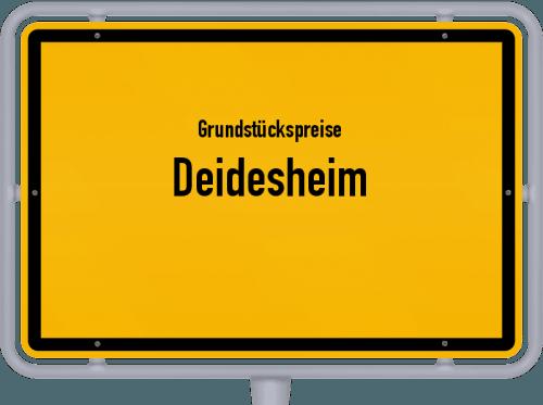 Grundstückspreise Deidesheim 2019