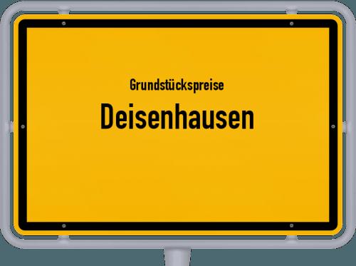 Grundstückspreise Deisenhausen 2021