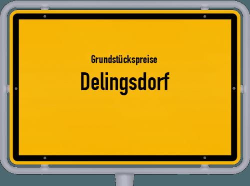 Grundstückspreise Delingsdorf 2021