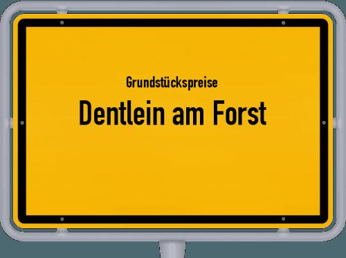 Grundstückspreise Dentlein am Forst 2019