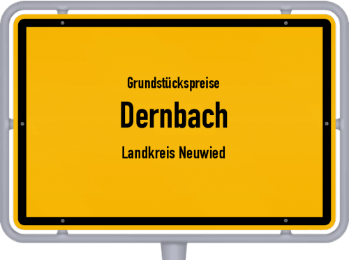 Grundstückspreise Dernbach (Landkreis Neuwied) 2019