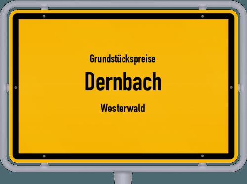 Grundstückspreise Dernbach (Westerwald) 2019