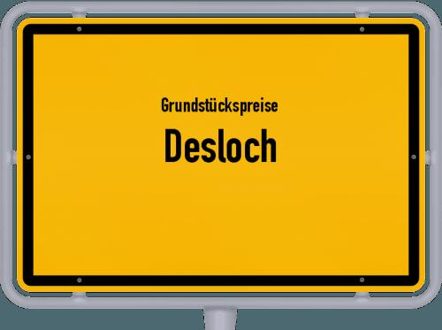 Grundstückspreise Desloch 2019