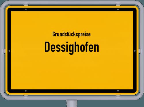 Grundstückspreise Dessighofen 2019