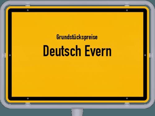 Grundstückspreise Deutsch Evern 2019