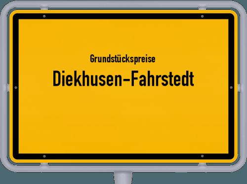 Grundstückspreise Diekhusen-Fahrstedt 2021
