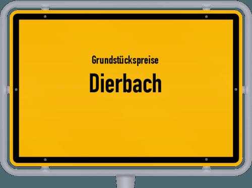 Grundstückspreise Dierbach 2019
