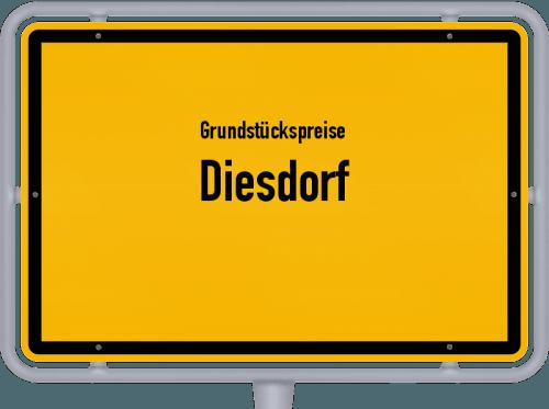Grundstückspreise Diesdorf 2021