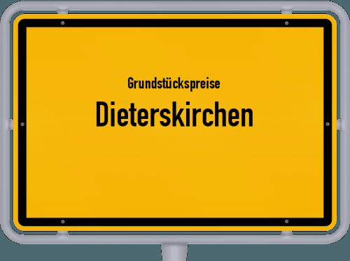 Grundstückspreise Dieterskirchen 2019