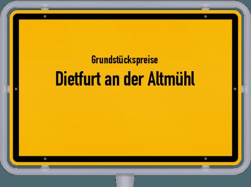 Grundstückspreise Dietfurt an der Altmühl 2021