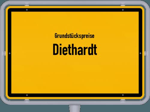 Grundstückspreise Diethardt 2019