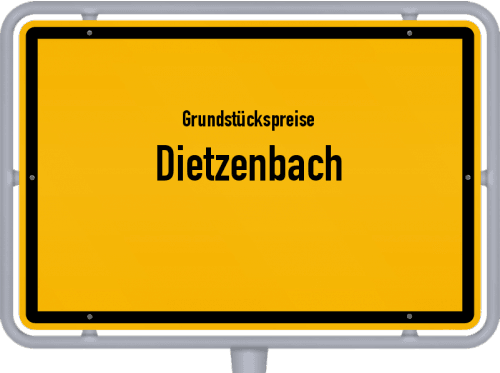 Grundstückspreise Dietzenbach 2020