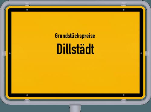 Grundstückspreise Dillstädt 2019