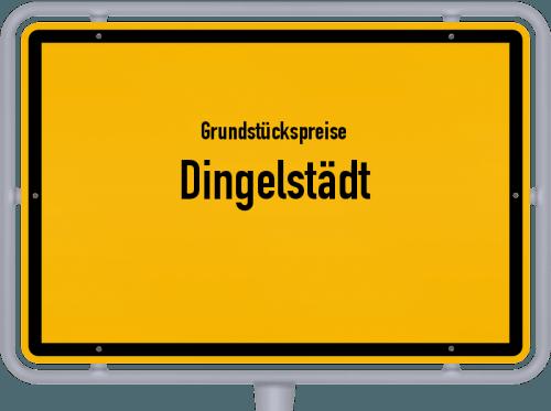 Grundstückspreise Dingelstädt 2019