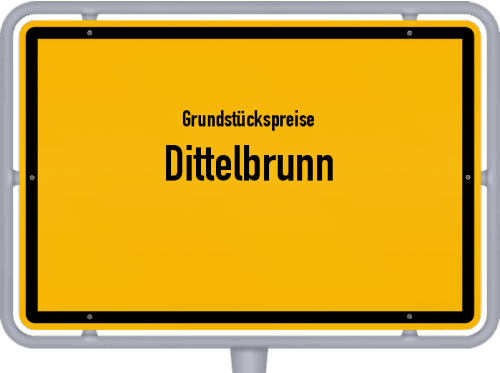 Grundstückspreise Dittelbrunn 2019