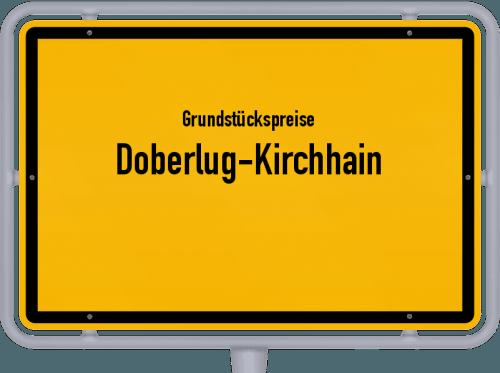 Grundstückspreise Doberlug-Kirchhain 2021