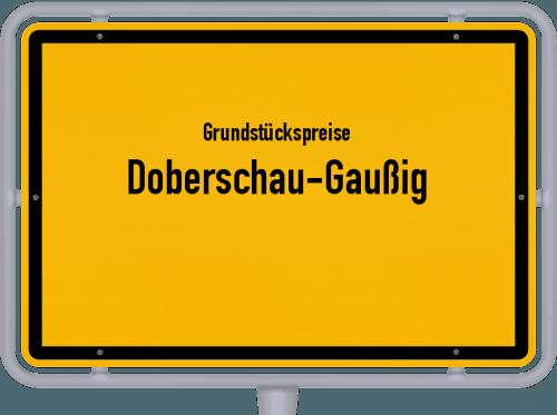 Grundstückspreise Doberschau-Gaußig 2019