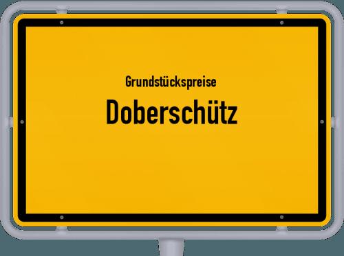 Grundstückspreise Doberschütz 2019