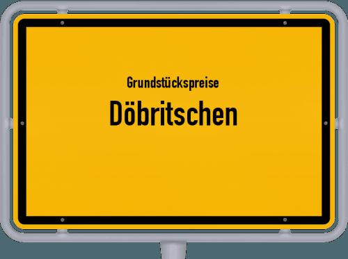 Grundstückspreise Döbritschen 2019