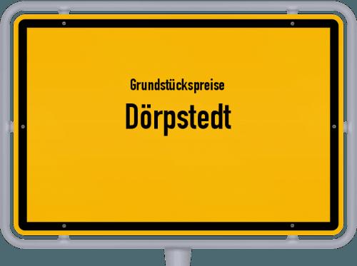 Grundstückspreise Dörpstedt 2021