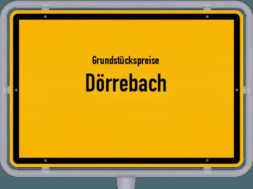 Grundstückspreise Dörrebach 2019