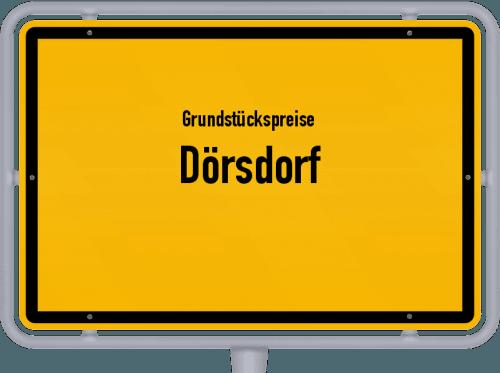 Grundstückspreise Dörsdorf 2019