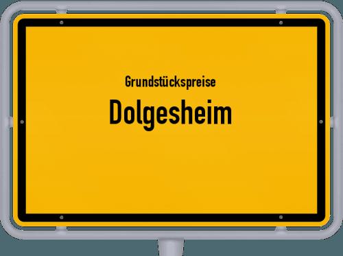 Grundstückspreise Dolgesheim 2019