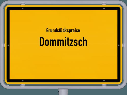 Grundstückspreise Dommitzsch 2019
