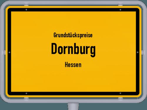 Grundstückspreise Dornburg (Hessen) 2020