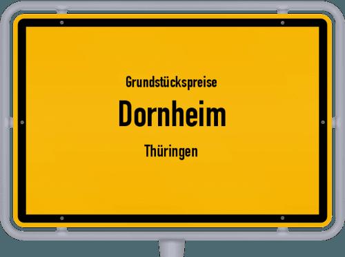 Grundstückspreise Dornheim (Thüringen) 2019