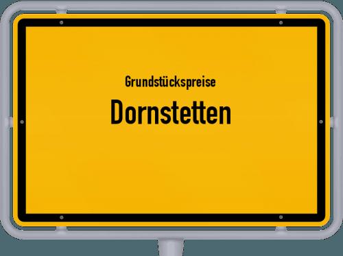 Grundstückspreise Dornstetten 2021