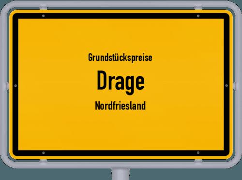 Grundstückspreise Drage (Nordfriesland) 2021