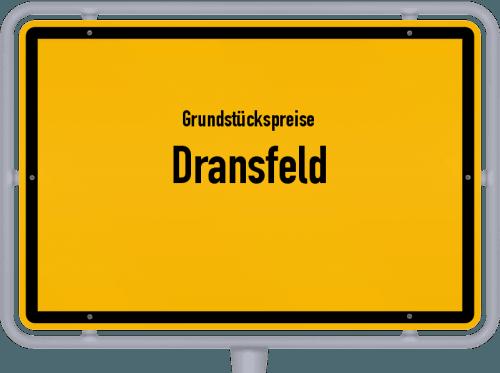 Grundstückspreise Dransfeld 2021