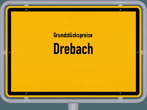 Grundstückspreise Drebach 2019